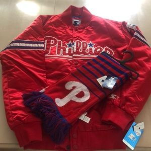 Phillies Jacket with Scarf